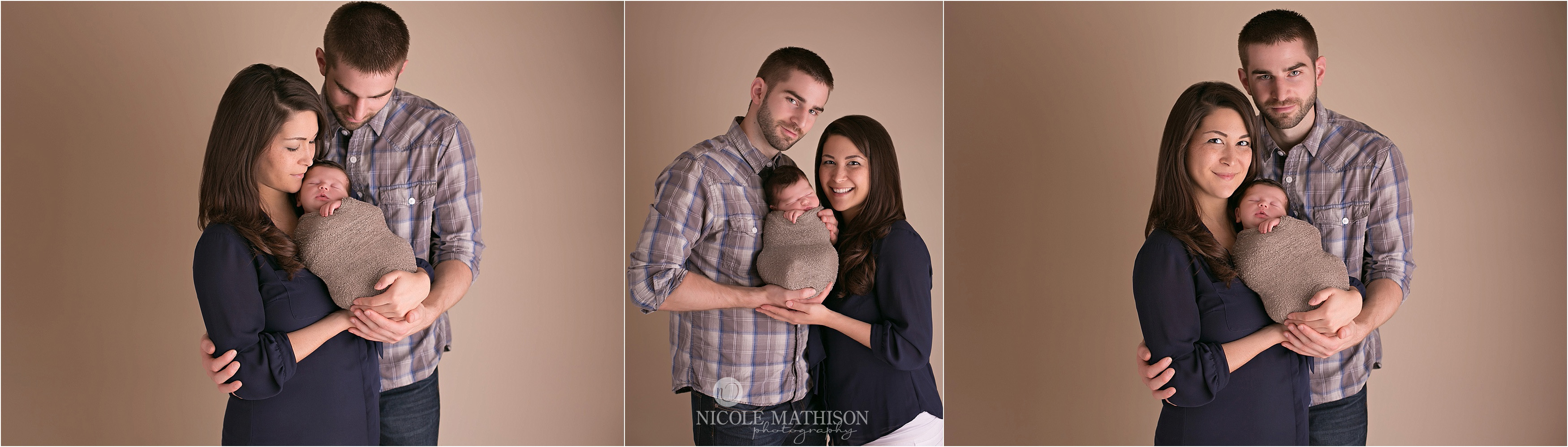 first family photos newborn with parents
