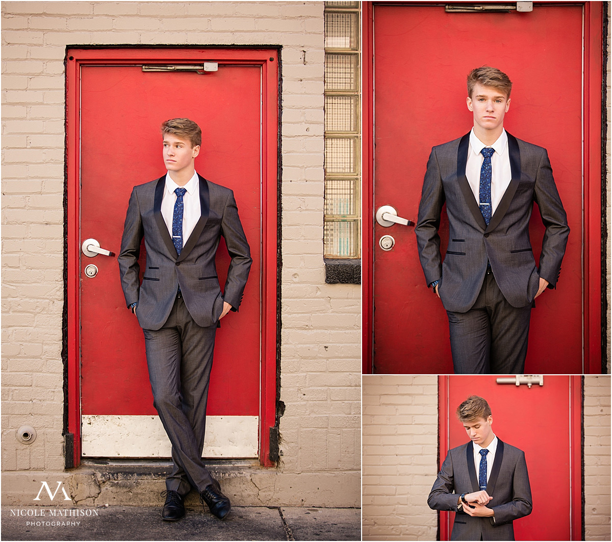 senior guy style with suit