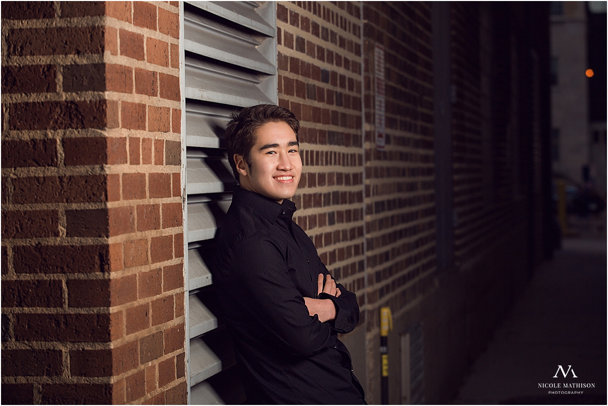 Vent and Brick cool senior portraits for guys