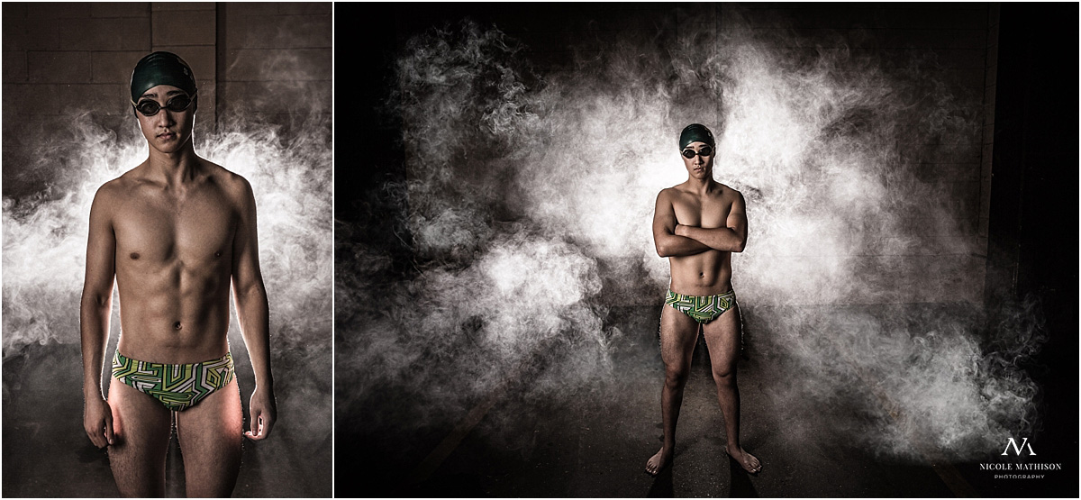 edgy sports photos for guys and swimmers
